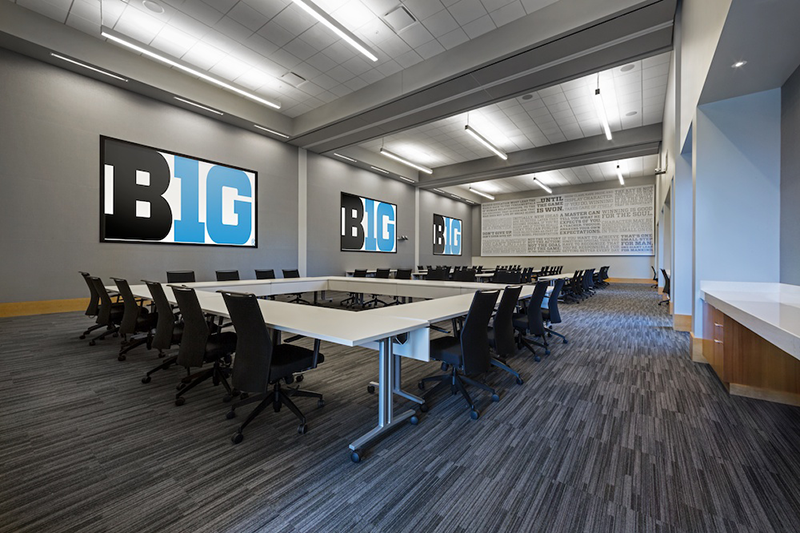Big Ten Conference Headquarters - Frequency Audio-Visual Services